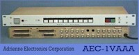Photo - 'AEC-1'  Video Routing Switcher w/front & rear views