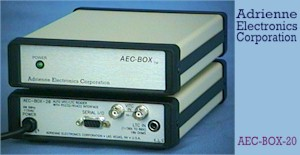 Photo 'AEC-BOX-20'   LTC/VITC Reader with Serial Interface (front & rear)