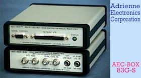 'AEC-BOX-83G-S' - Serial to Parallel Converter with LTC / VITC Reader Generator