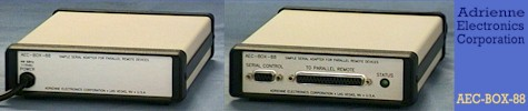 'AEC-BOX-88' - Simple RS232/RS422 Serial Machine Control of Parallel Devices